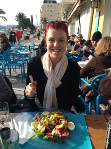 Nicoise Salad in the French Riviera - Jan 2014